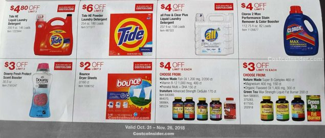 Costco November 2018 Coupon Book Page 16