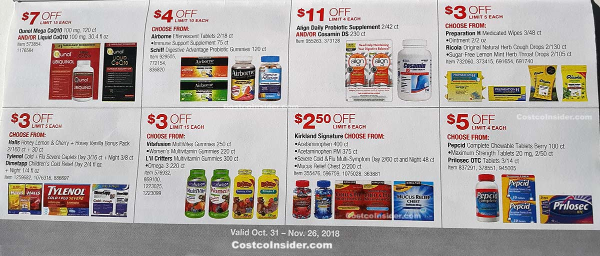Costco November 2018 Coupon Book Page 18