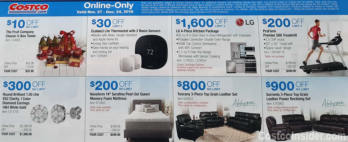 Costco December 2018 Coupon Book Page 16