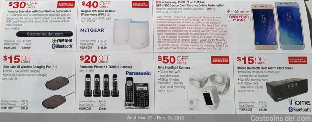 Costco December 2018 Coupon Book Page 18
