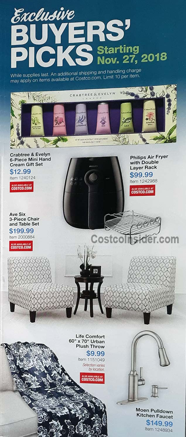 Costco December 2018 Coupon Book Page 2