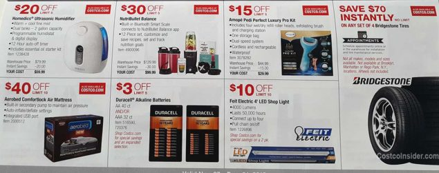 Costco December 2018 Coupon Book Page 20