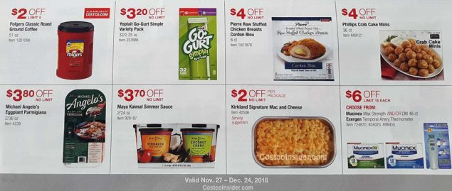 Costco December 2018 Coupon Book Page 24