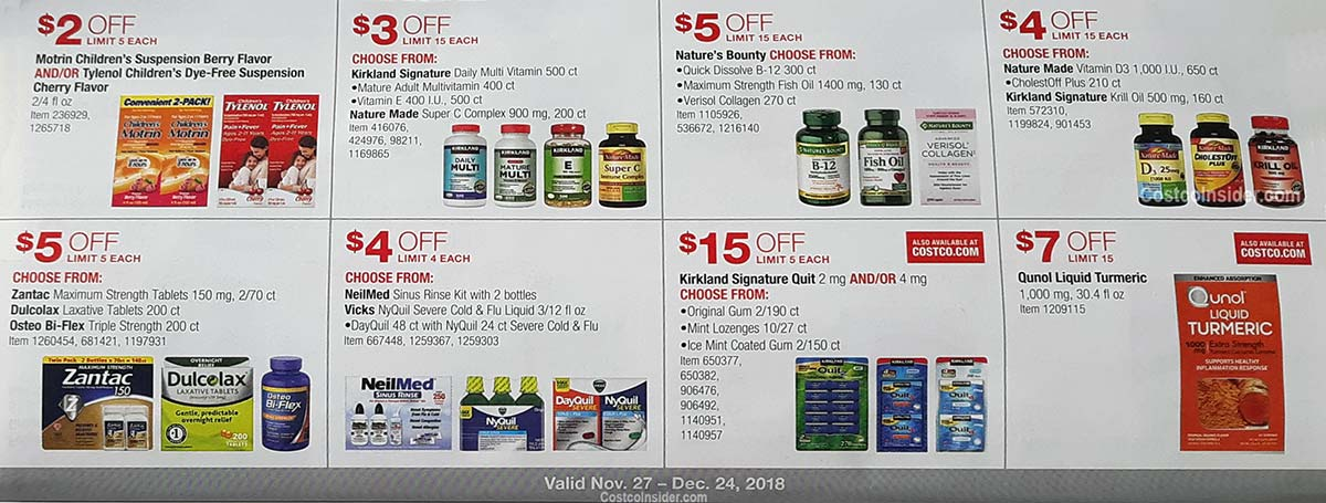 Costco December 2018 Coupon Book Page 25