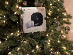 Ecobee In Christmas Tree