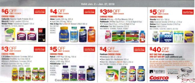 January 2019 Costco Coupon Book Page 19