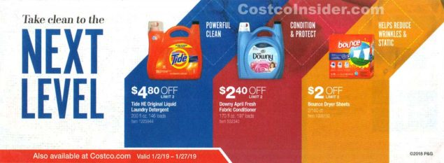 January 2019 Costco Coupon Book Page 21