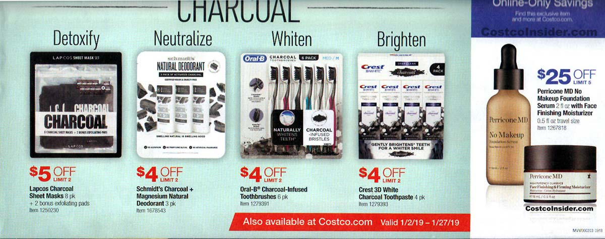 January 2019 Costco Coupon Book Page 3