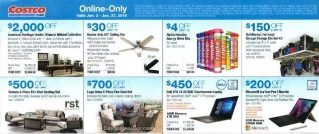 January 2019 Costco Coupon Book Page 7