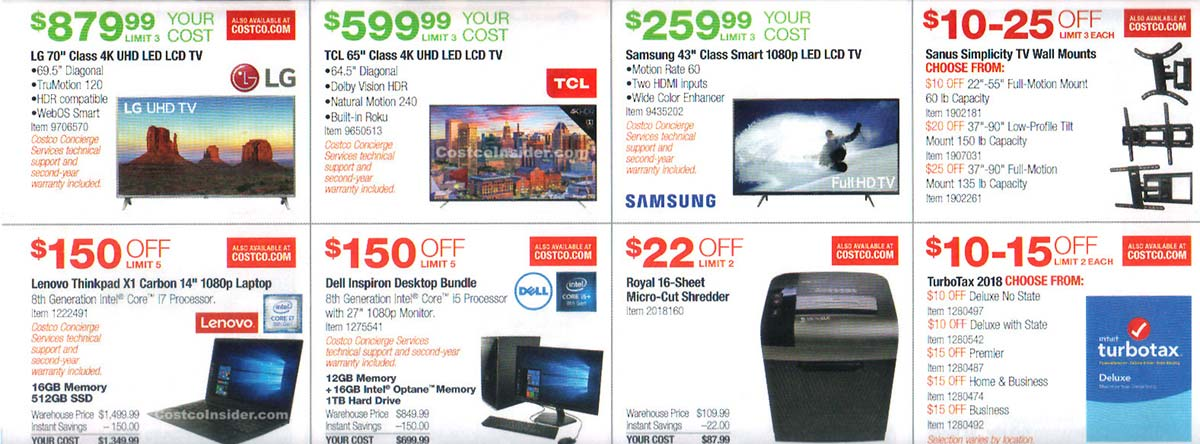January 2019 Costco Coupon Book Page 8