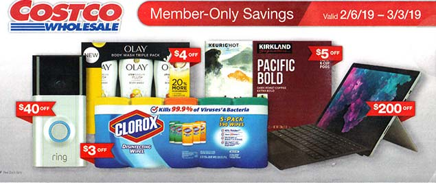 3644eacb8a Costco February 2019 Coupon Book