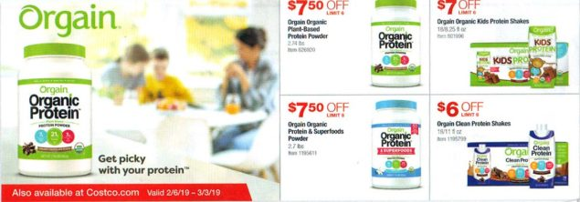 Costco February 2019 Coupon Book Page 1