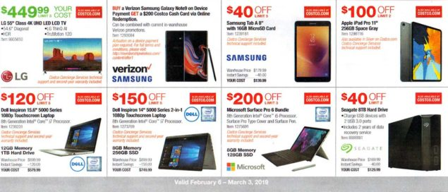 Costco February 2019 Coupon Book Page 11