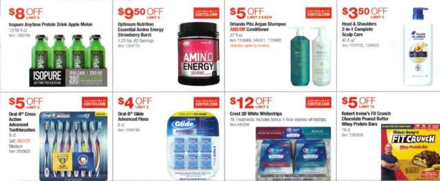 Costco February 2019 Coupon Book Page 12