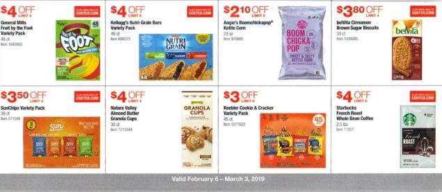 Costco February 2019 Coupon Book Page 13