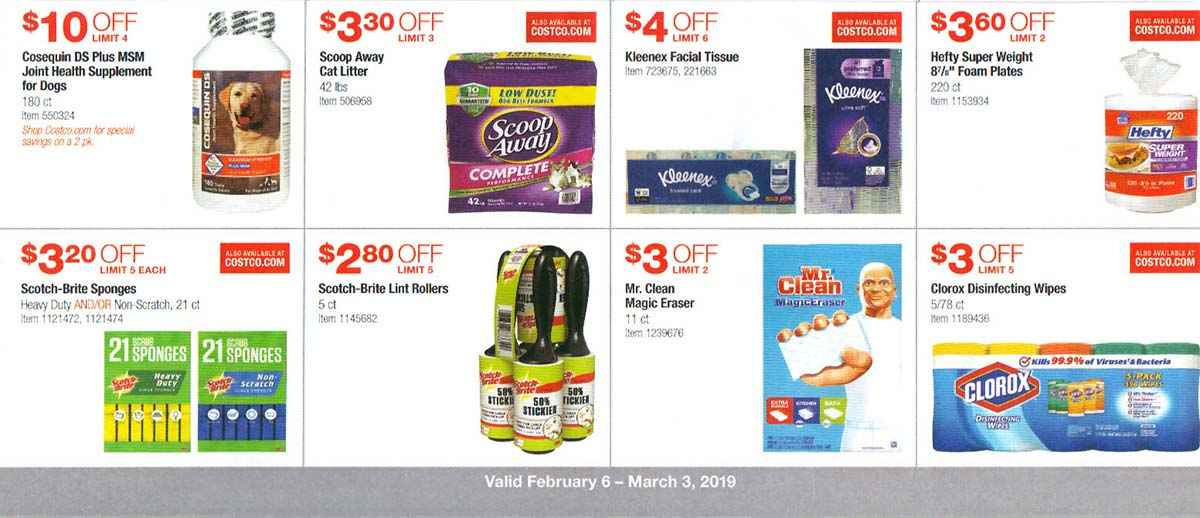 Costco February 2019 Coupon Book Page 17