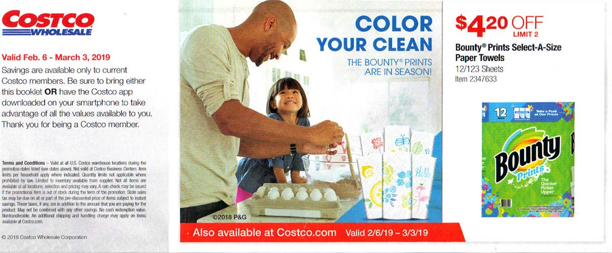 Costco February 2019 Coupon Book Page 2