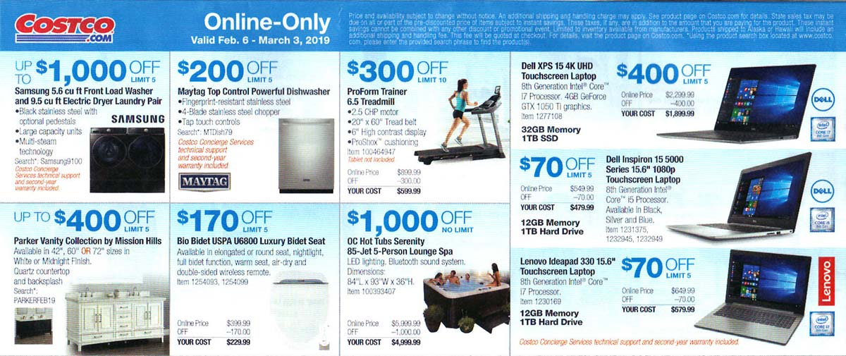 Costco February 2019 Coupon Book Page 7