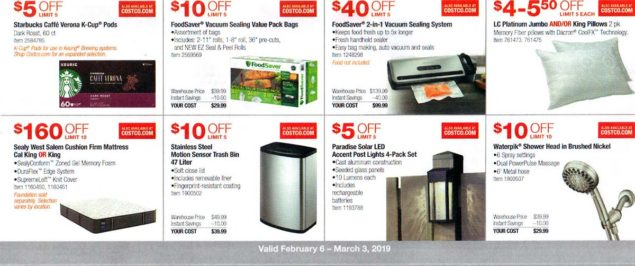 Costco February 2019 Coupon Book Page 9