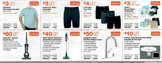 Costco March 2019 Coupon Book Page 10