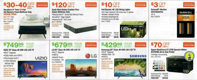 Costco March 2019 Coupon Book Page 11