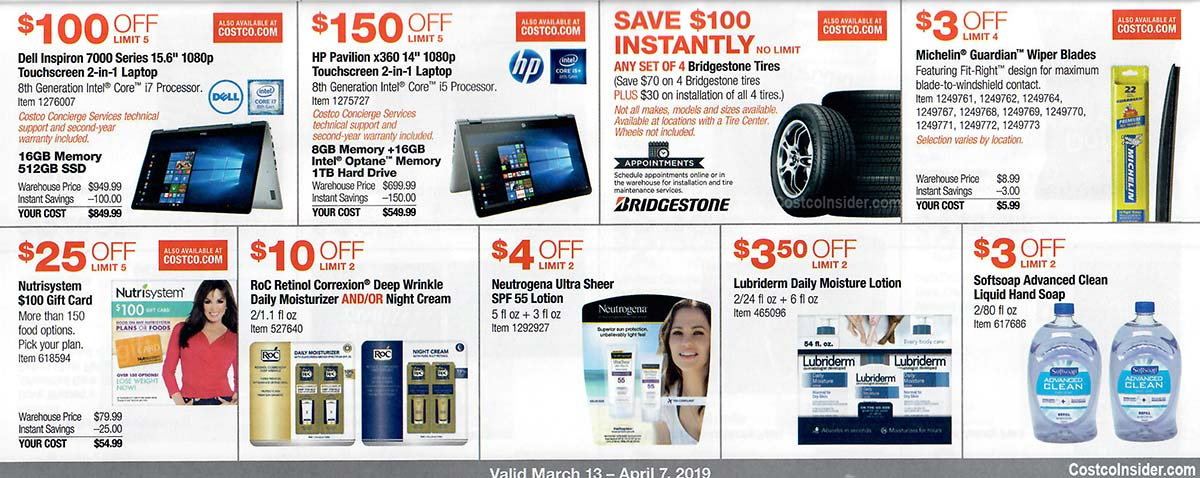 Costco March 2019 Coupon Book Page 12