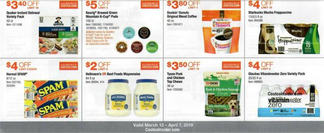 Costco March 2019 Coupon Book Page 16