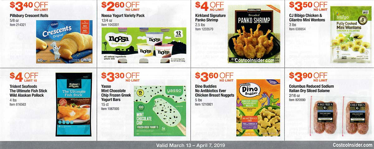 Costco March 2019 Coupon Book Page 18