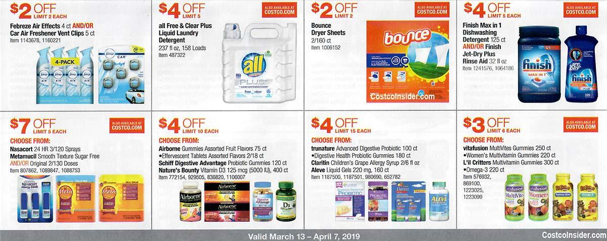 Costco March 2019 Coupon Book Page 20
