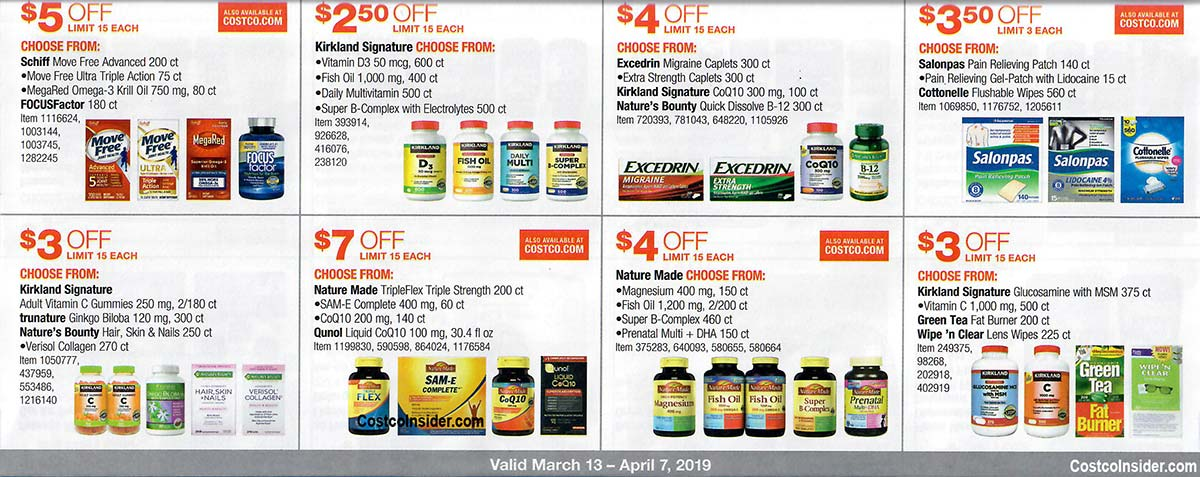 Costco March 2019 Coupon Book Page 21