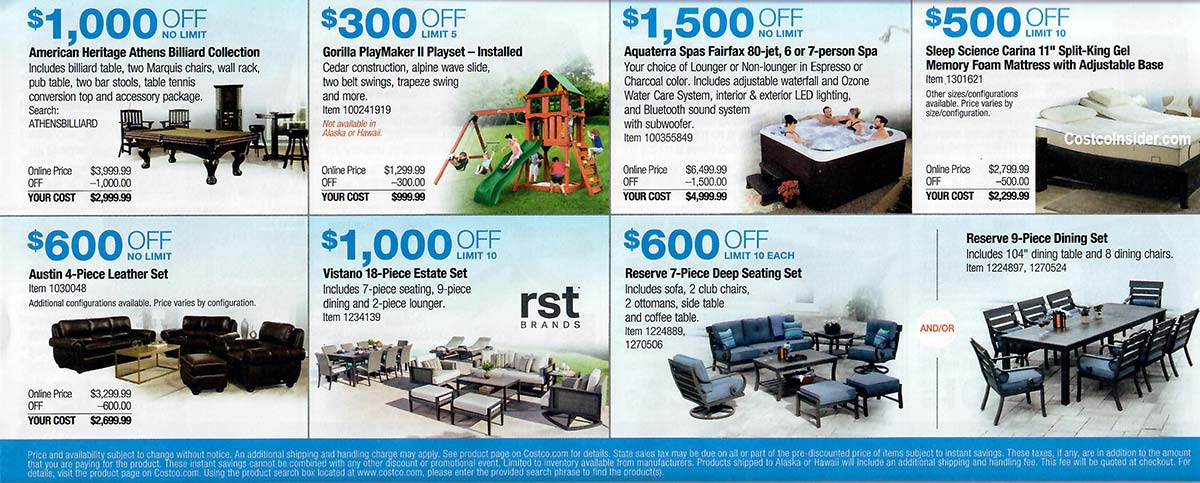 Costco March 2019 Coupon Book Page 23