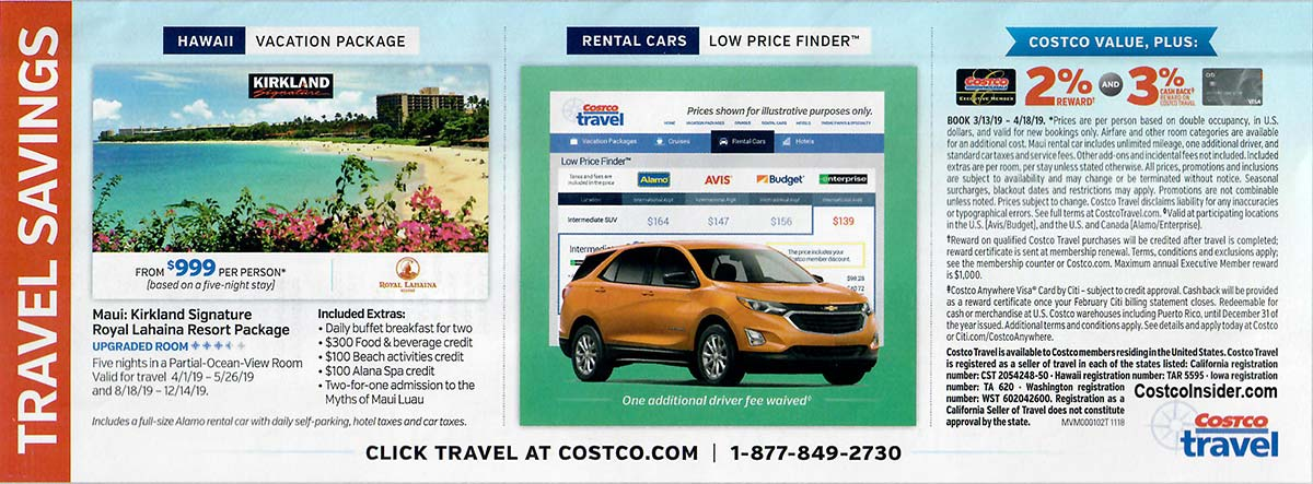 Costco March 2019 Coupon Book Page 25