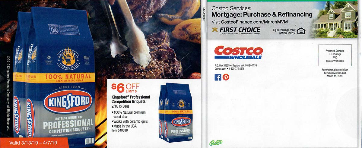 Costco March 2019 Coupon Book Page 27