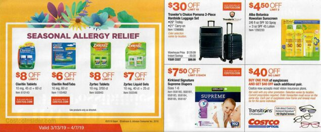Costco March 2019 Coupon Book Page 9