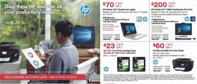 April 2019 Costco Coupon Book Page 2
