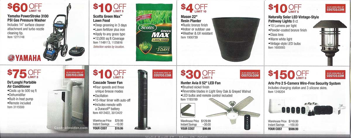 April 2019 Costco Coupon Book Page 8