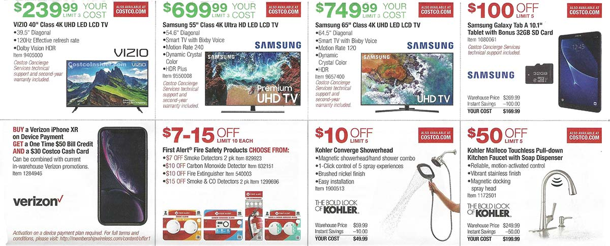 April 2019 Costco Coupon Book Page 9