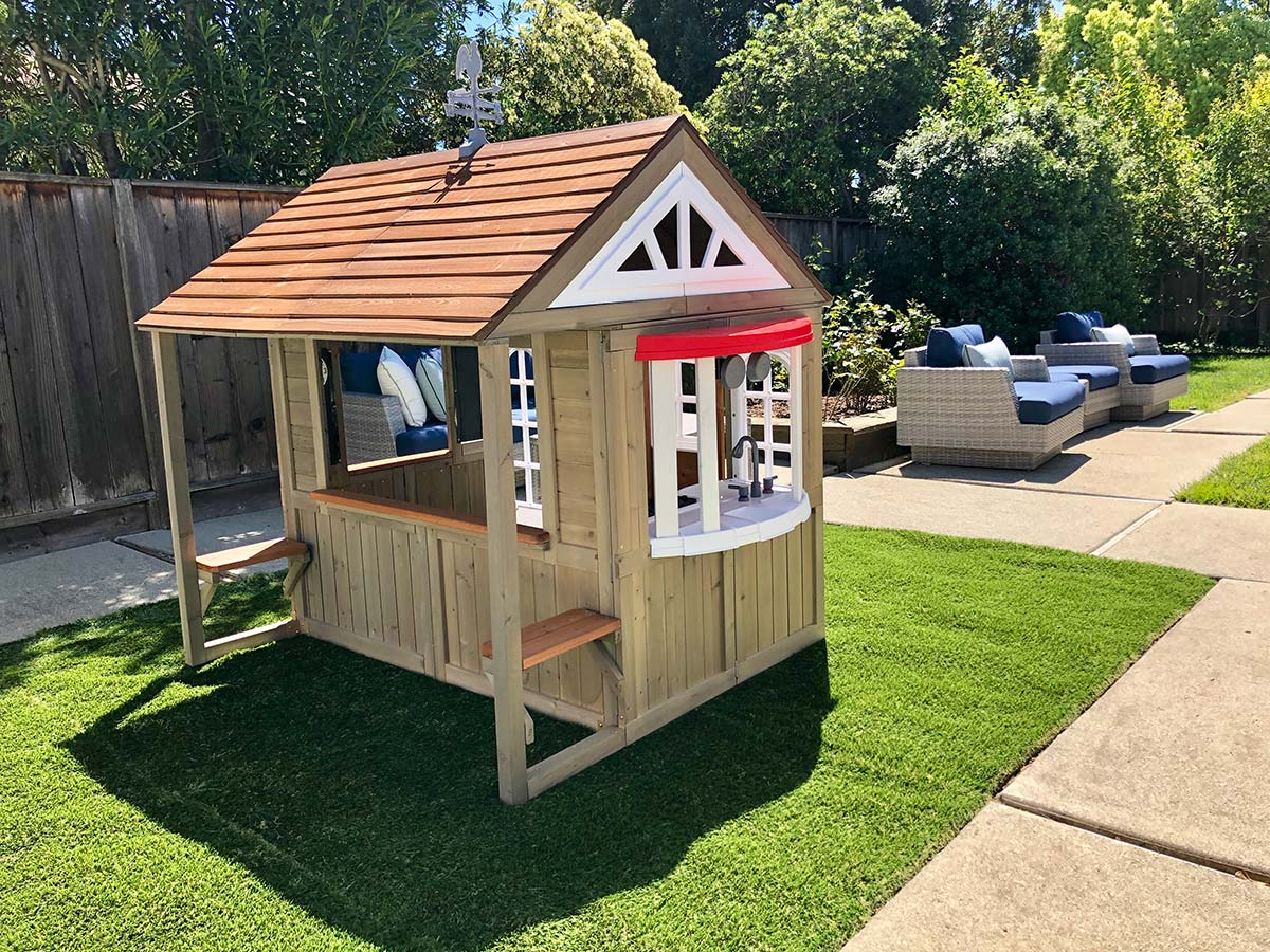 Kidkraft Cedar Summit Country Vista Playhouse Review Costco Insider