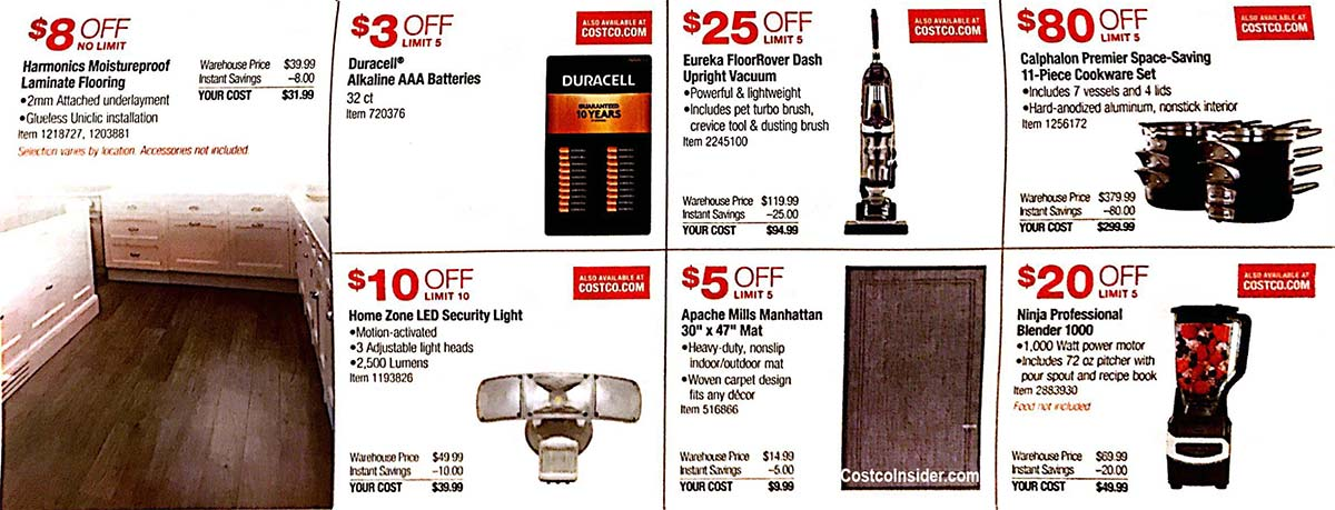 May 2019 Costco Coupon Book Page 12