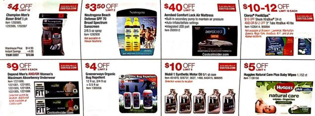 May 2019 Costco Coupon Book Page 14