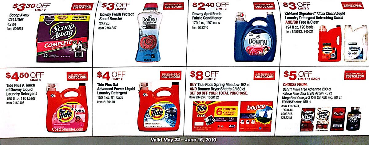 May 2019 Costco Coupon Book Page 20