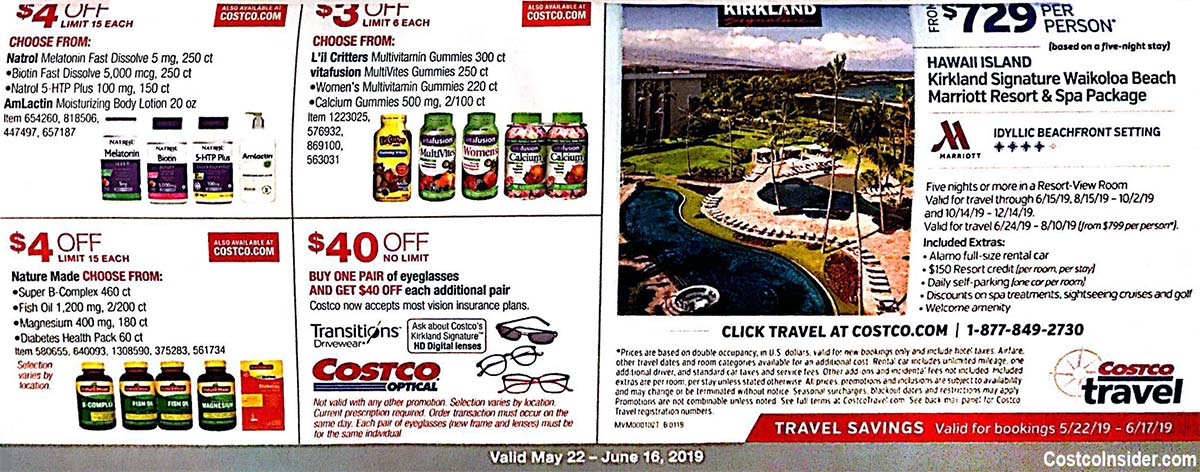 May 2019 Costco Coupon Book Page 22