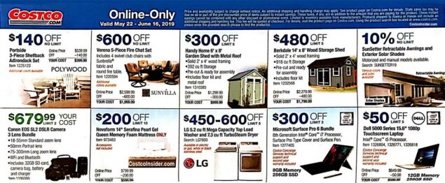 May 2019 Costco Coupon Book Page 23