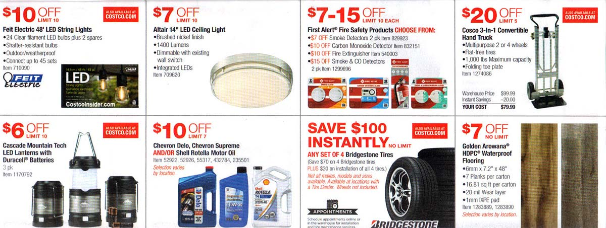 Costco July 2019 Coupon Book Page 10