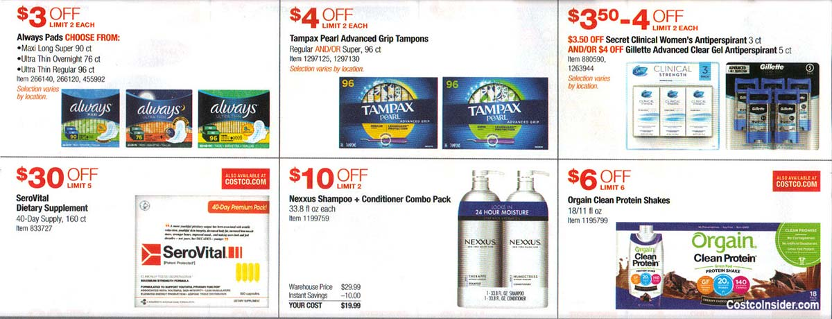 Costco July 2019 Coupon Book Page 12