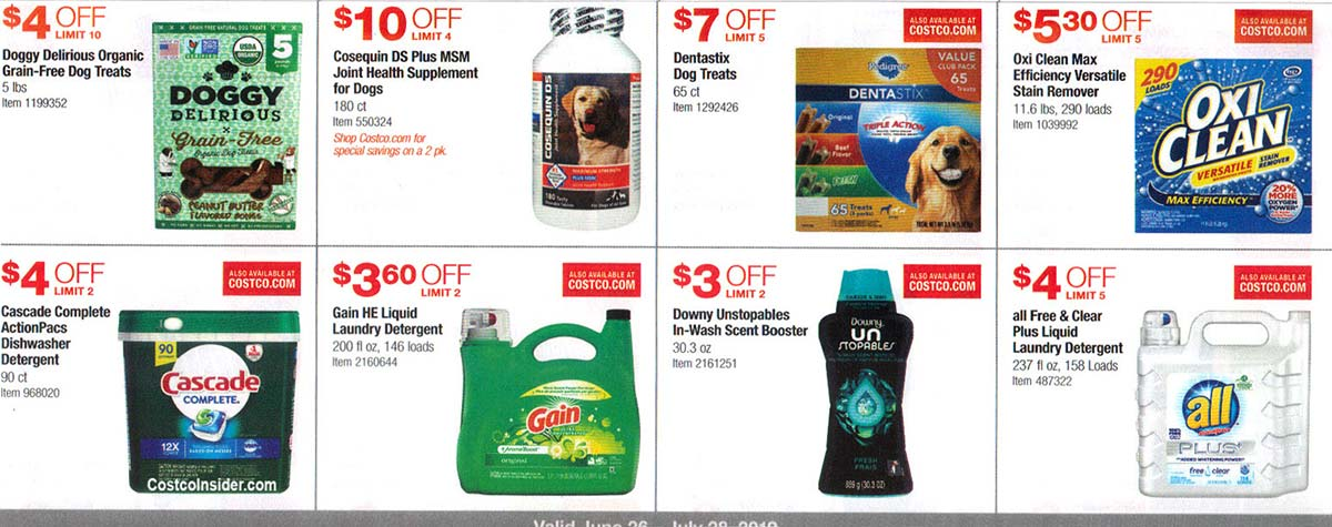 Costco July 2019 Coupon Book Page 18
