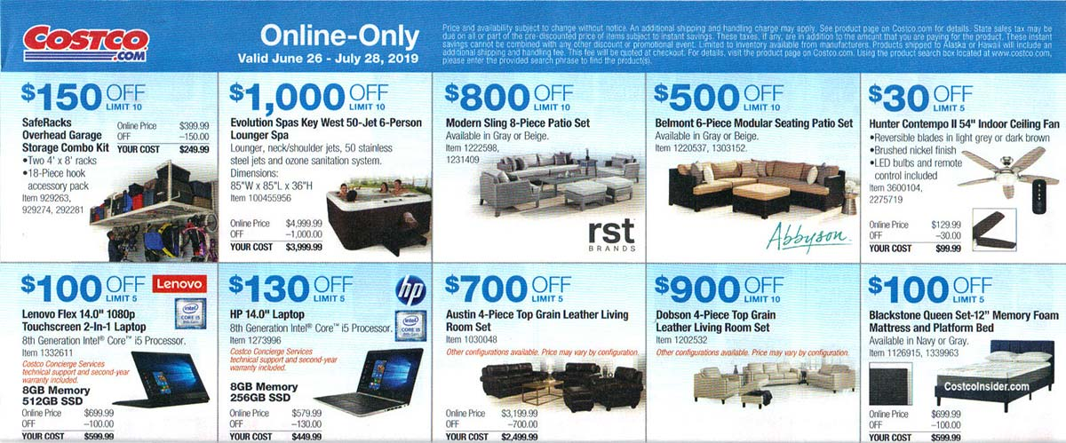 Costco July 2019 Coupon Book Page 21
