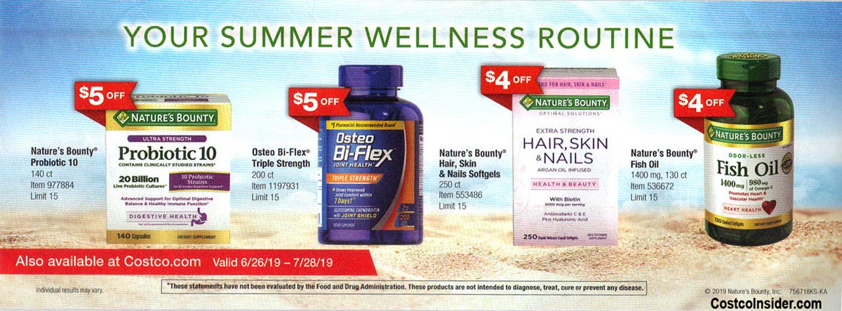 Costco July 2019 Coupon Book Page 24