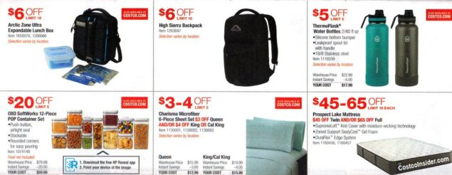 Costco July 2019 Coupon Book Page 8
