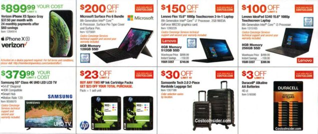 Costco July 2019 Coupon Book Page 9